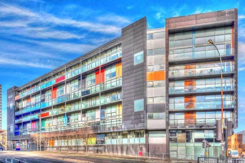 Awarding winning, the Matrix building in Glasgow