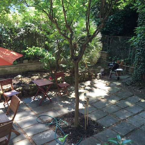 The garden you can relax in