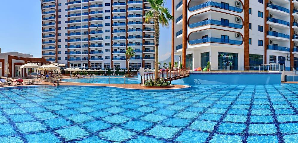 Best vacation in famous residence! - Mahmutlar - Flat