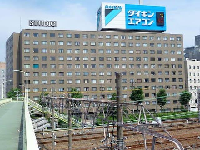 京阪神、東京無需轉車就可直達!JR新大阪站5分鐘路程!FREEWIFI - 大阪市東淀川区東中島 - アパート