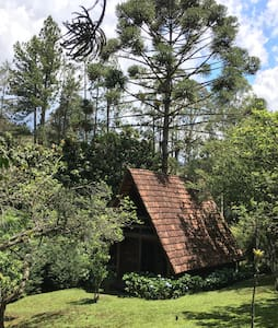 Chalé das Hortênsias, Visconde de Mauá, RJ - Visconde de Mauá - Dům