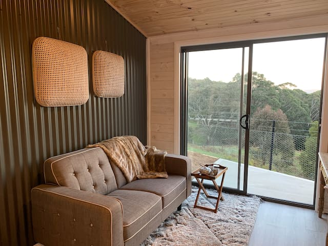 Lounge area with view