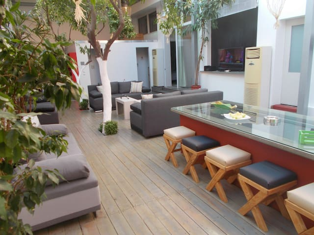 Interior garden house - Apartments for Rent in Athina, Greece