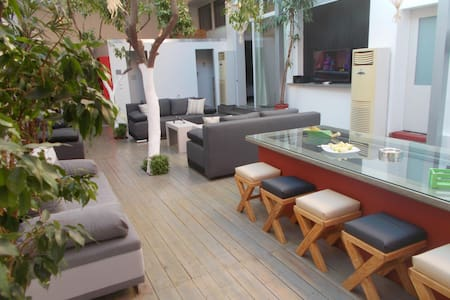 Interior garden house - Athina - Appartement