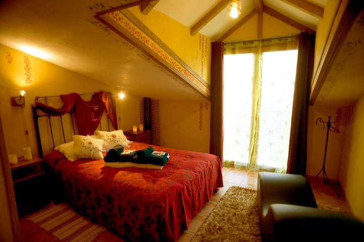 Apartamento rural con Spa privado-Majuelo Love Spa - Monasterio - アパート