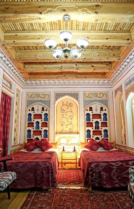 Minzifa Boutique Hotel in Bukhara