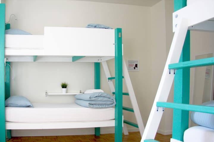 PermaGO Bunk Bed in City Hall Shared Room#
