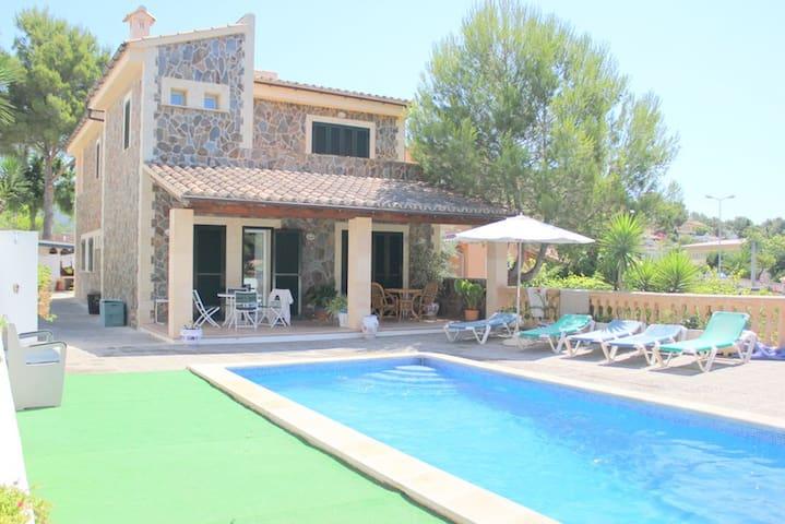 Casa de lujo con piscina - Costa de la Calma - Casa