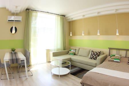 Альфа Апартаменты: Студия дизайнера в центре - Omsk