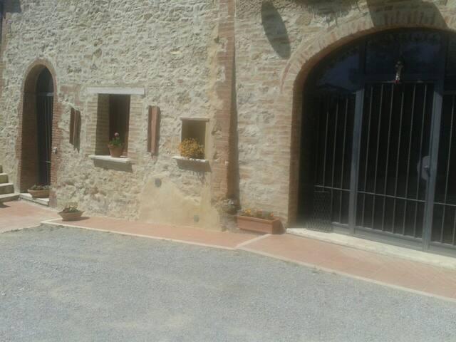 Grazioso appartamento in casale - Rapolano Terme - อพาร์ทเมนท์