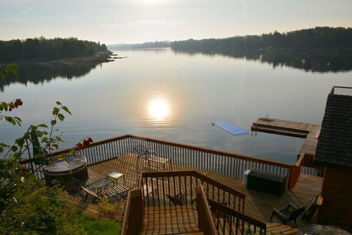 Private Lakefront Cabin on 2 acres - Kenora - House