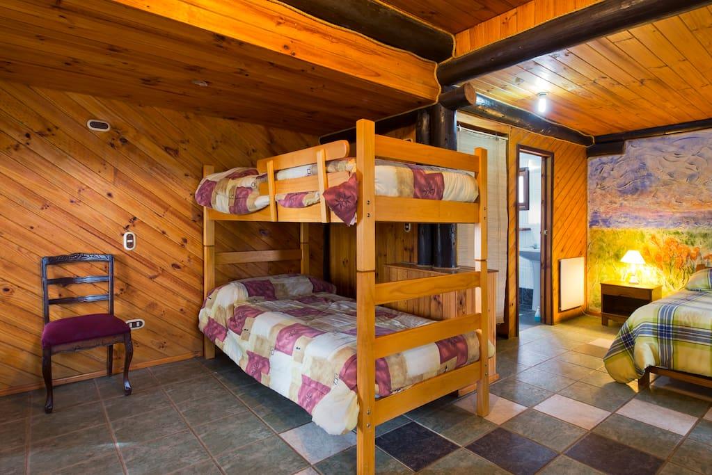 Dormitorio  Cabaña 1 piso