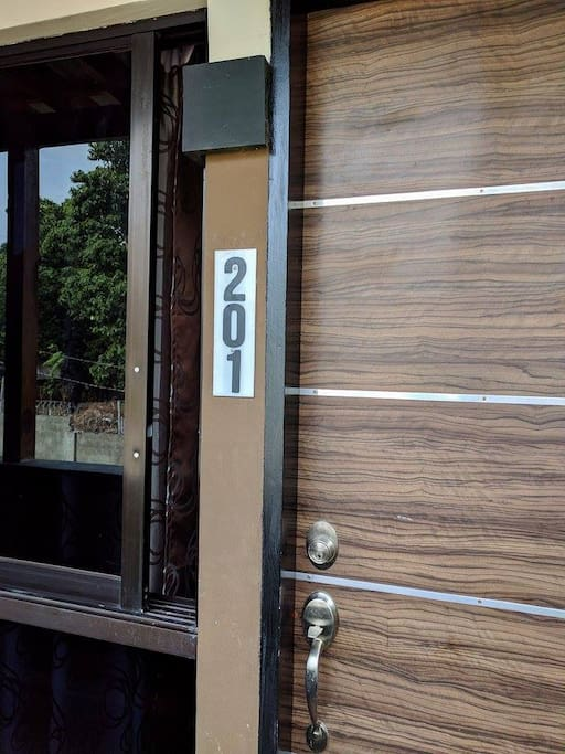 Entry to Unit 202