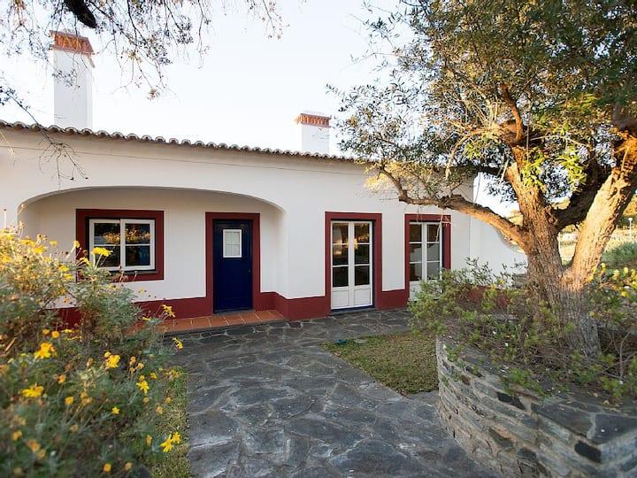 Casa do Lago Recanto Alentejano para 6 pessoas