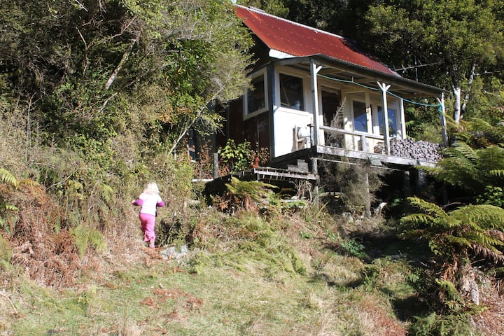 Tom's Hut, MANZONI, Kawhaka Valley.