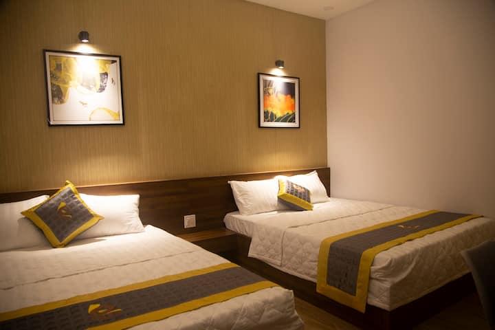 Khách sạn Phú Yên - BaKa Hotel phòng 4 người 203