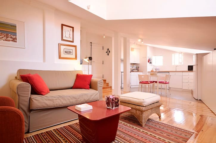 Stylish apartment inside the Castle