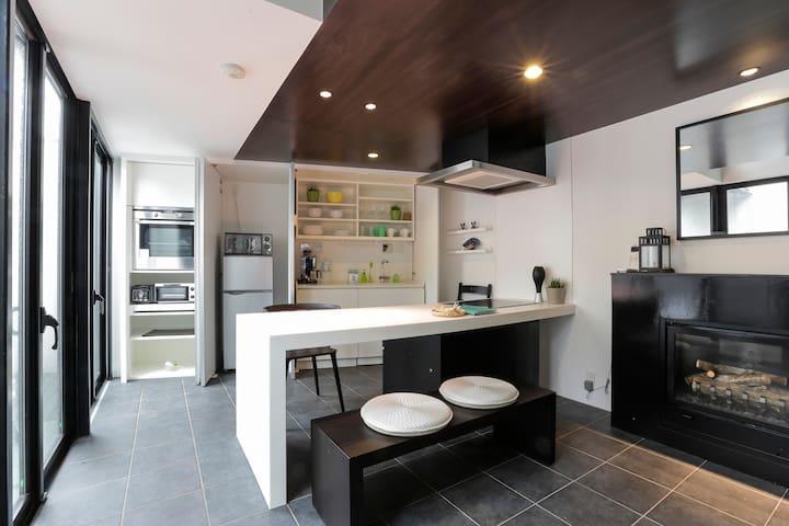 Meguro cozy Designers House - 目黒区 - Haus