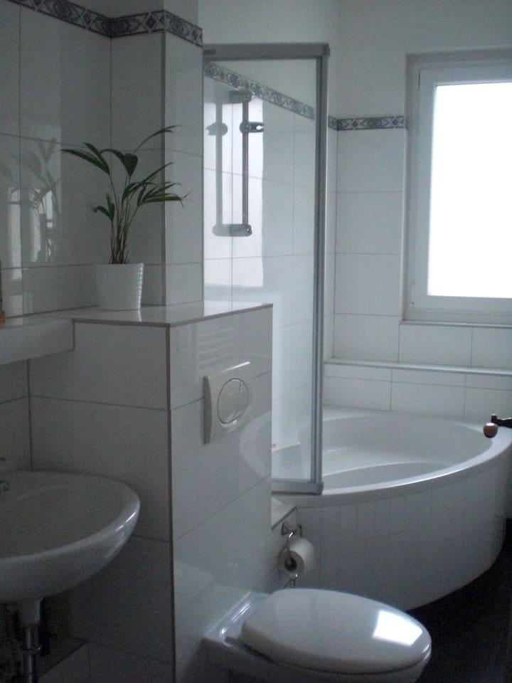 Badezimmer: Klein aber fein ;)