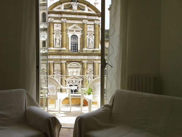 Frascati-La terrazza su San Pietro
