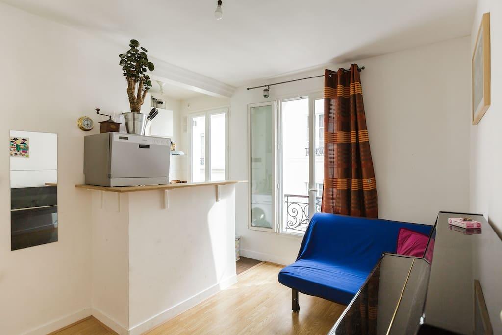 Charmant t2 calme et refait neuf appartements louer for Reglement interieur immeuble