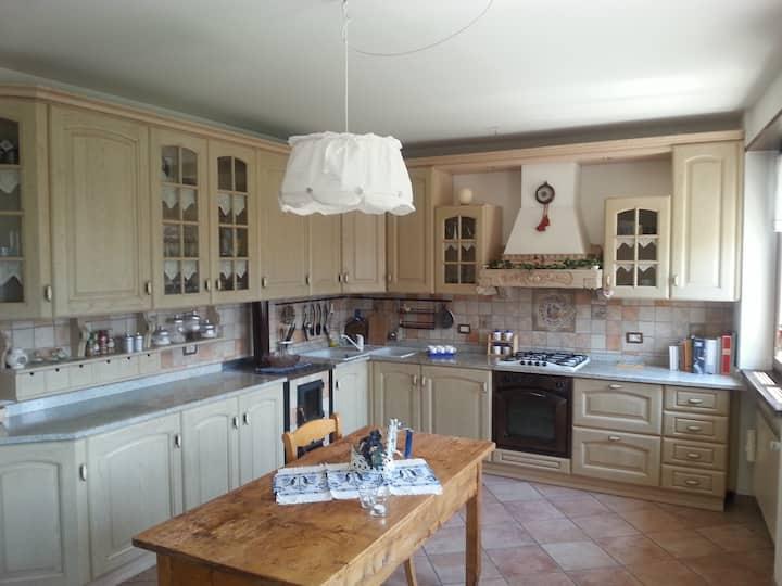 Casa San Martino, Mellame-Arsié, Feltre, Piano 1-2