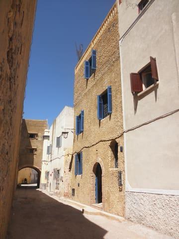 Maison typique à Eljadida - El Jadida - Huis