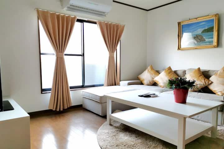 不二居阳光宽敞独栋小别墅FUJIKYO sunny comfortable villa