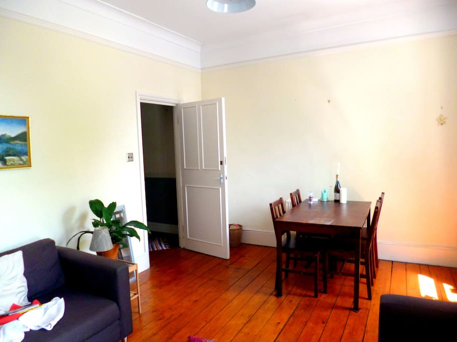 Sociable living-dining area