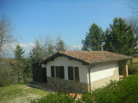 Cottage in campagna toscana