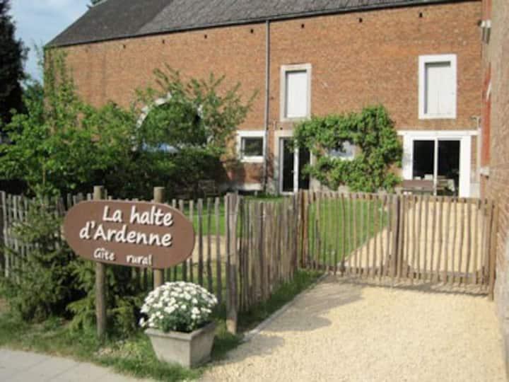 Gîte 'La halte d'Ardenne' 22 pers