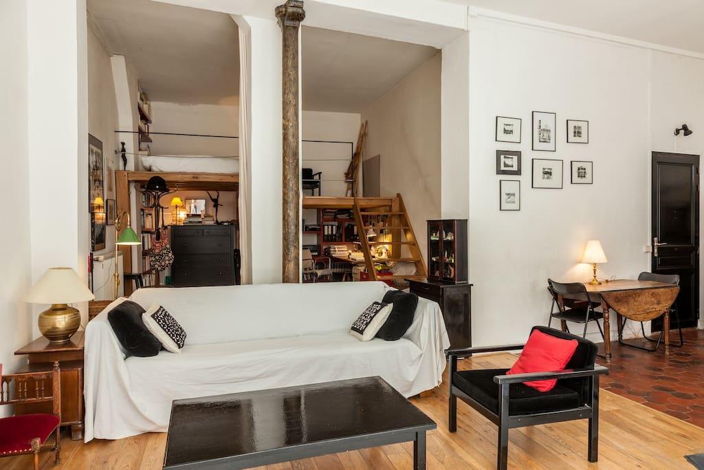 Loft / art studio for 4 - Lofts for Rent in Paris, Île-de-France, France