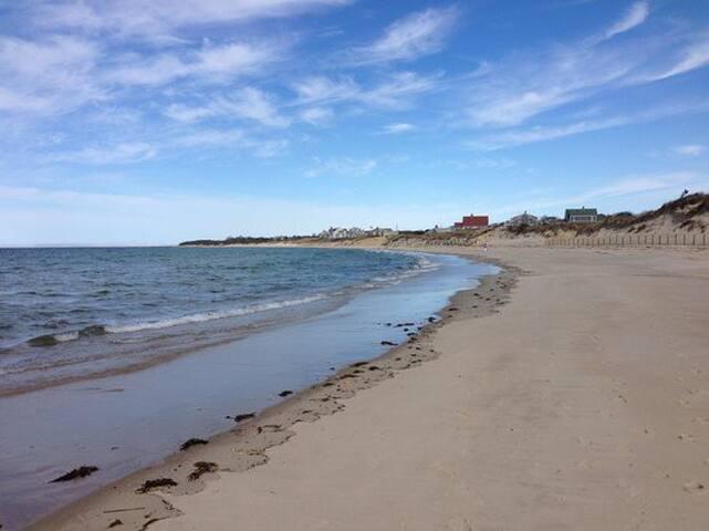 Corporation Beach 1/2 mile