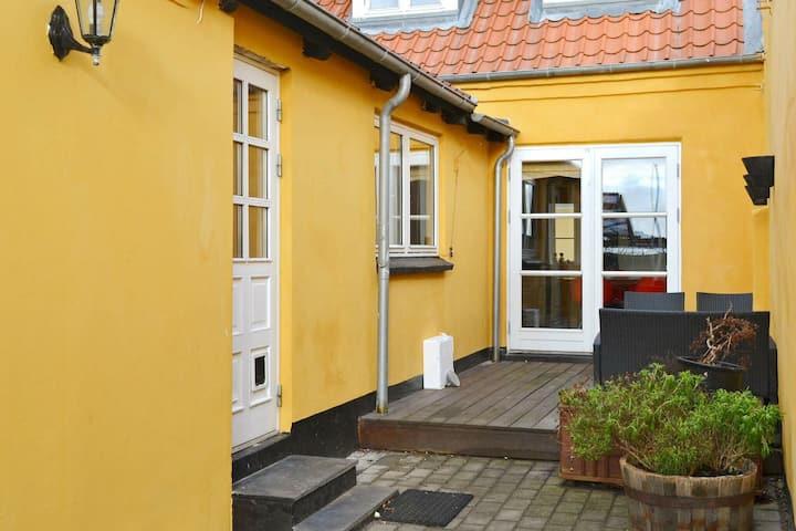 Casa de vacaciones moderna en Funen con terraza
