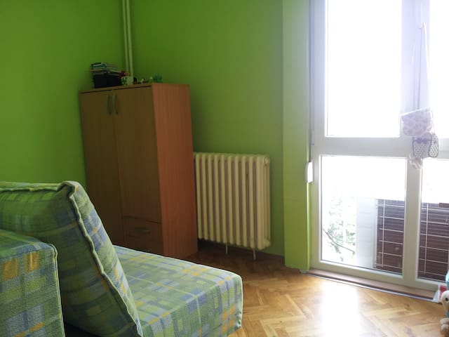 Two separate rooms during Ext fest - Novi Sad - Wohnung