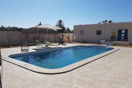 Dar Elyas Villa private 10m pool not overlooked - Mezraya - 别墅