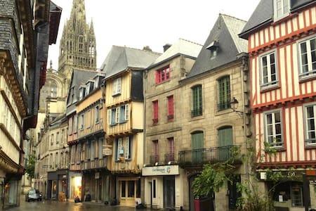 Charming breton flat downtown - Quimper