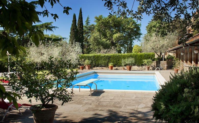 Toscana casa di lusso in campagna