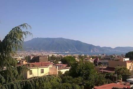 Vista mare/Vesuv a 5 min. da Pompei - Boscotrecase - Bed & Breakfast