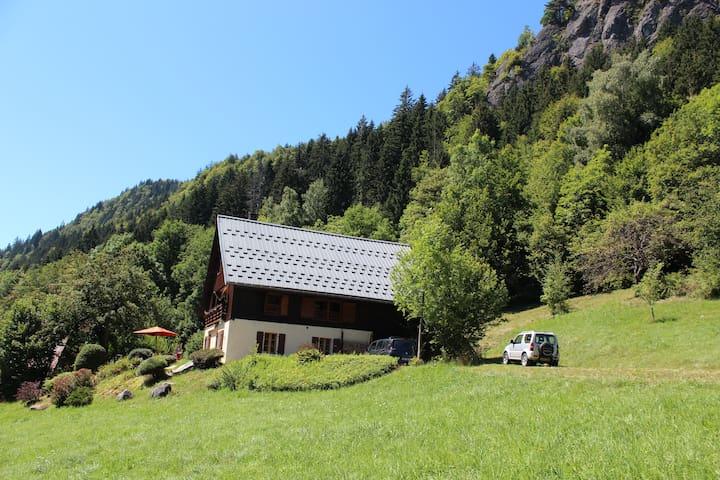 Belle ferme au coeur des Aravis - Le Bouchet-Mont-Charvin - Шале