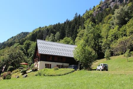 Belle ferme au coeur des Aravis - Le Bouchet-Mont-Charvin - Faház