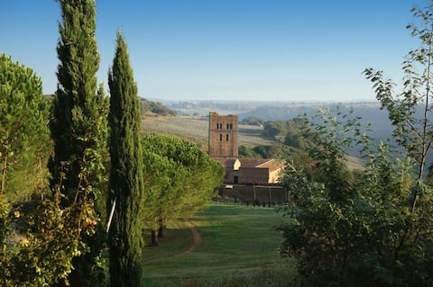 San Giusto Abbey { Lavender }