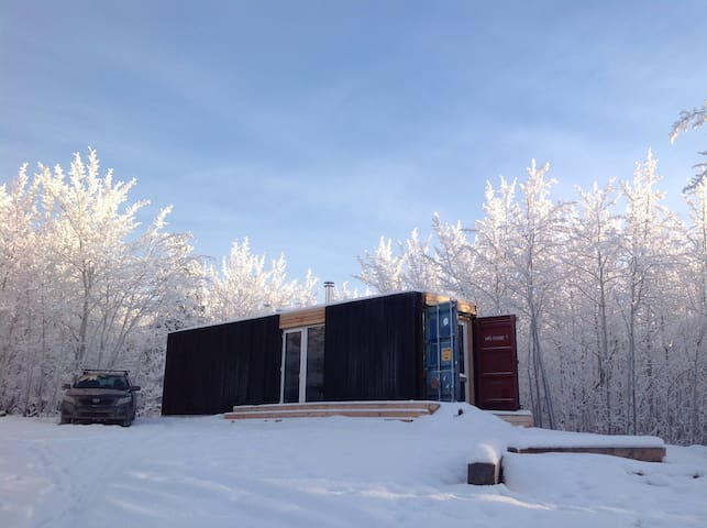 shipping container tiny house - Whitehorse - House