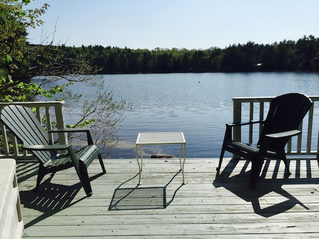 Loon Cove Cottage on the Shores of Moose Pond
