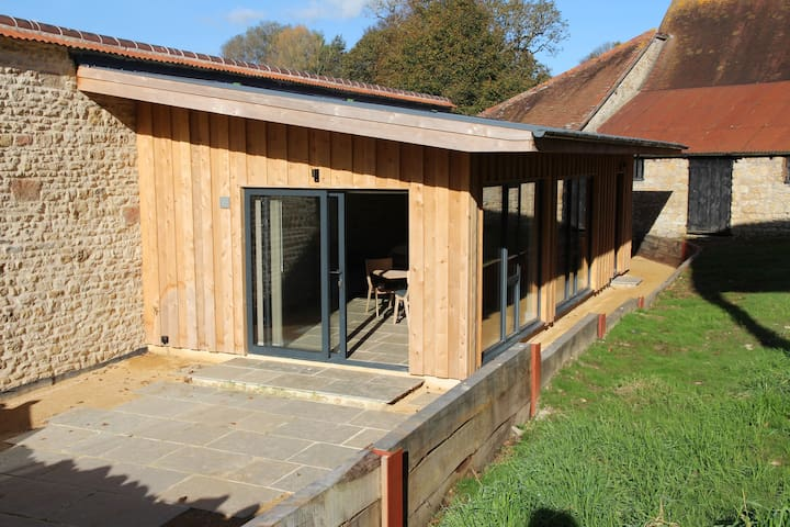 Beautiful self contained barn in Bruton, Somerset