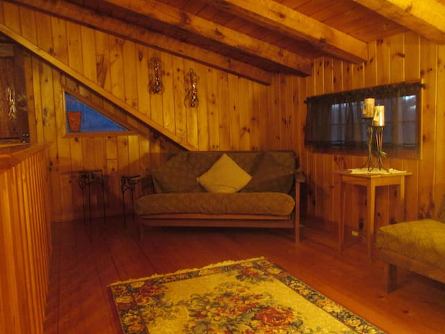 A Peaceful Off-Grid Cabin on the Catskill Creek