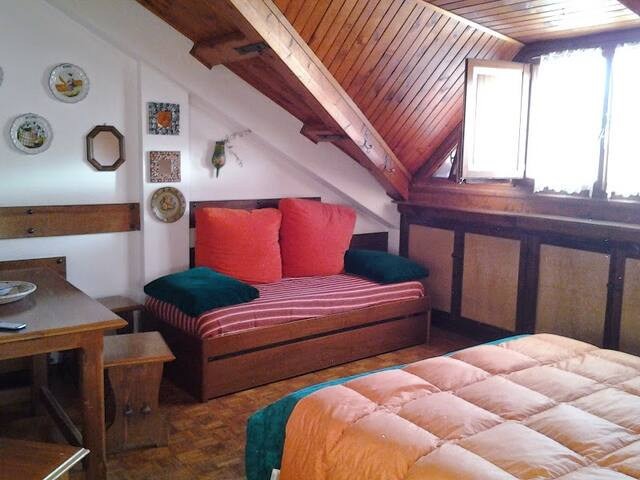 Attic in the heart of the Dolomites - Pieve di Cadore - 아파트