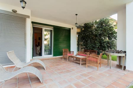 Nice and comfo house near  Seville  - Bollullos de la Mitación - Huis