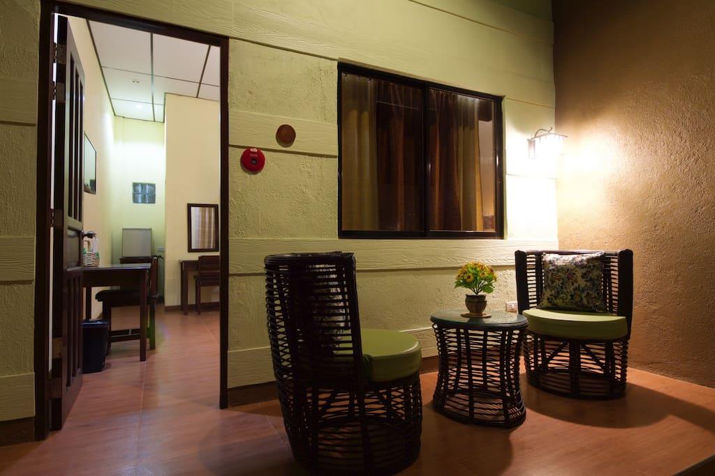 Patio Area (Superior Room)