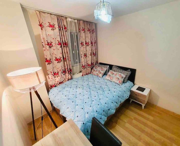 Private comfortable bedroom In Beşiktaş